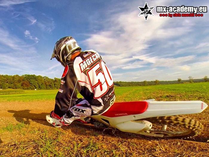 Motocross Training Kurven fahren