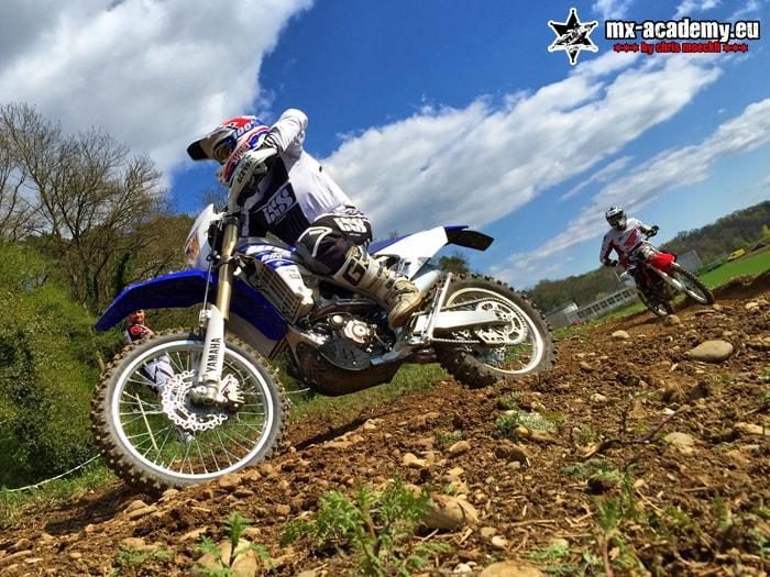 Motocross Training mit eigenem Motorrad