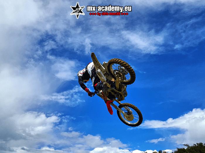 Motocross Verein Deutschland - Sprungtraining mit Chris Möckli