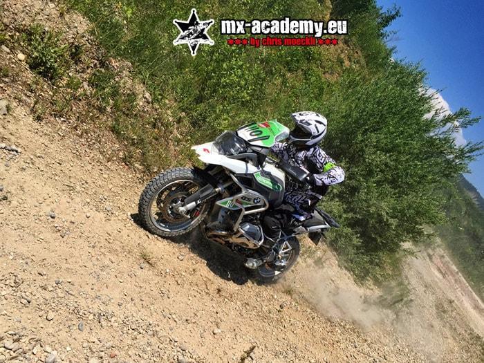 Motorrad fahren lernen in der MX-Academy mit eigenem Motorrad