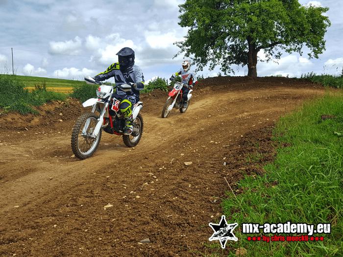 Motorrad Kurs mit dem eigenen Motorrad